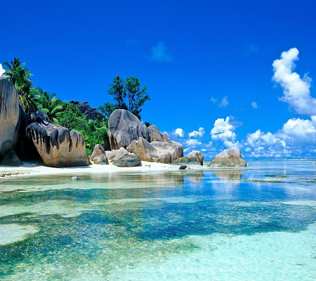 Beautiful Beach Seychelles