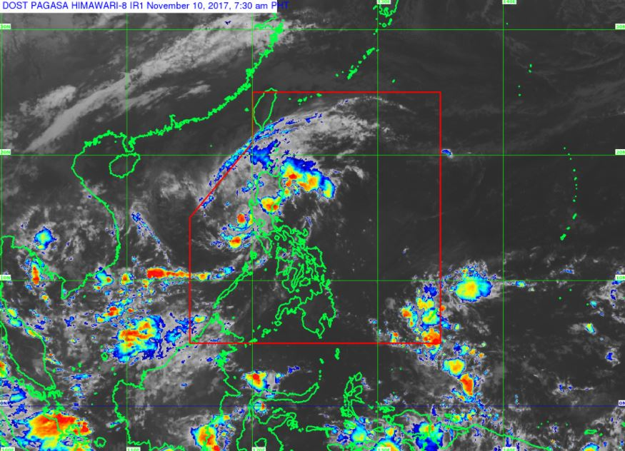 'Bagyong Salome' PAGASA weather update November 10, 2017