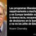 """Chomsky: """"En Europa no importa quién sale elegido, las políticas siguen siendo las mismas"""""""