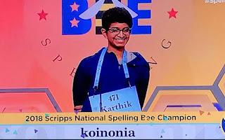 ΗΠΑ: Συλλάβισε τη λέξη «koinonia» και κέρδισε 40.000 δολάρια [Βίντεο]