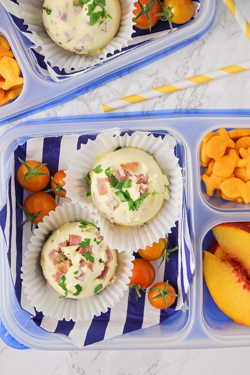 These savory and delicious Instant Pot sous vide egg bites are so easy to make. They're perfect for school lunches, or easy breakfasts on the go!