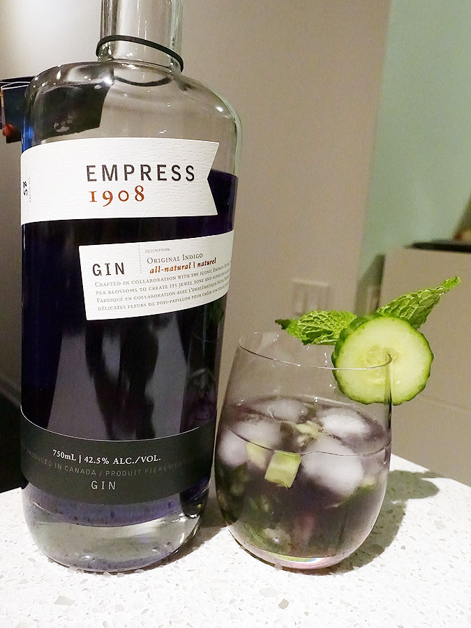 Cucumber Mint Gin