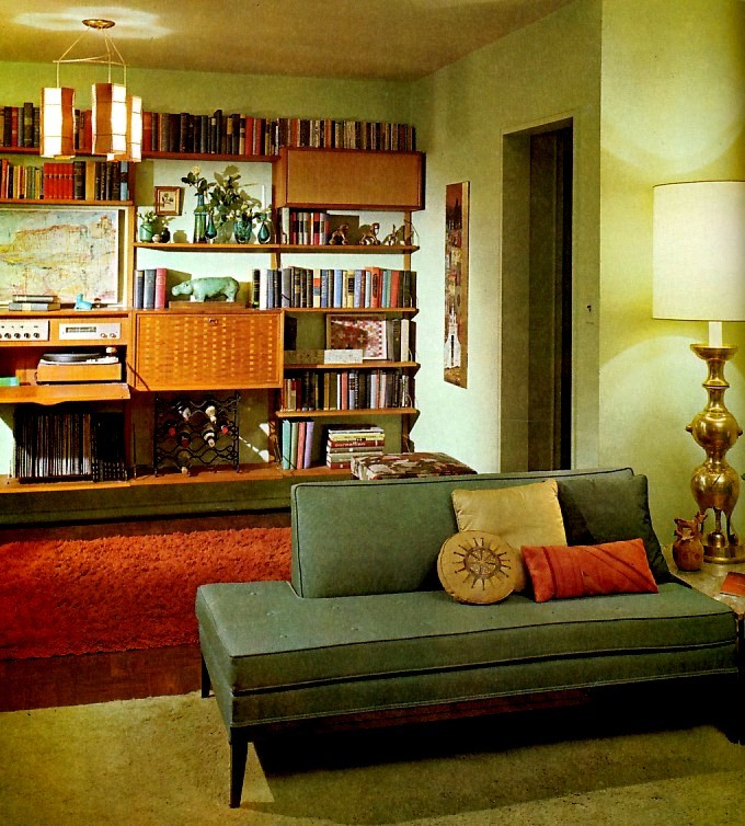 Midcentury Living Room: Braxton And Yancey: MID CENTURY MODERN DECOR
