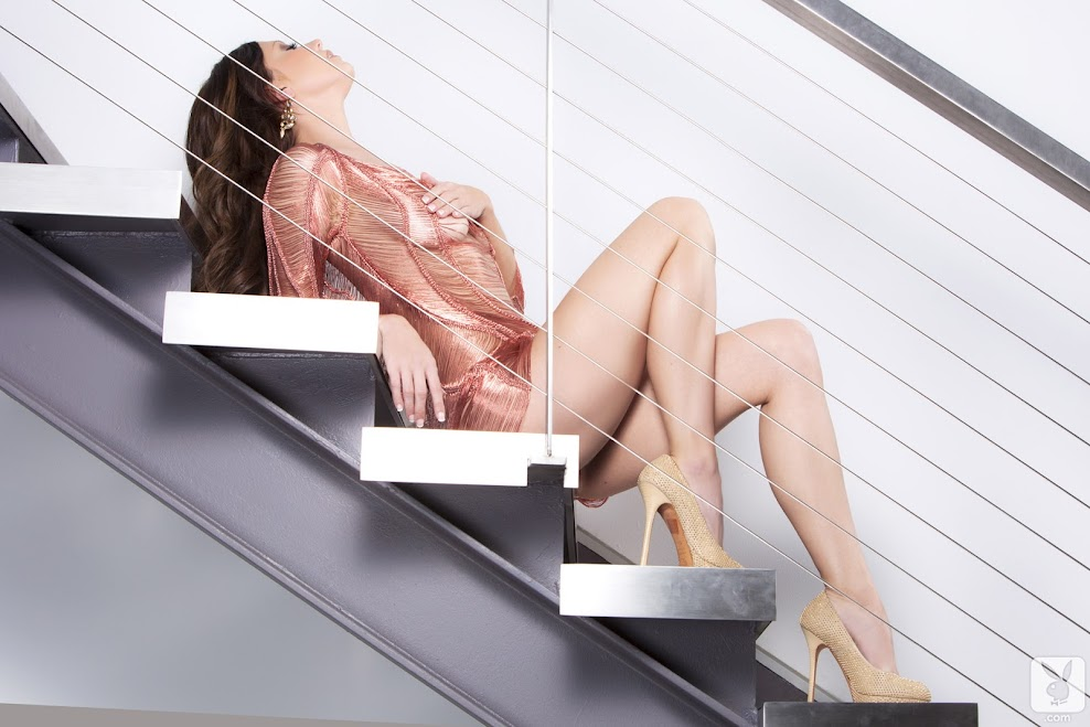 [Playboy Archives] Chrissy Marie - Silky Soft Nude / Stairs To Heaven Nude / Summer Dress Nude