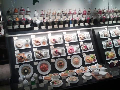 食品サンプル1 よつ葉ホワイトコージ札幌パセオ店