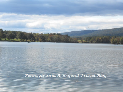 Memorial Lake State Park in Fort Indiantown Gap