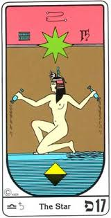 estrela tarot egipcio