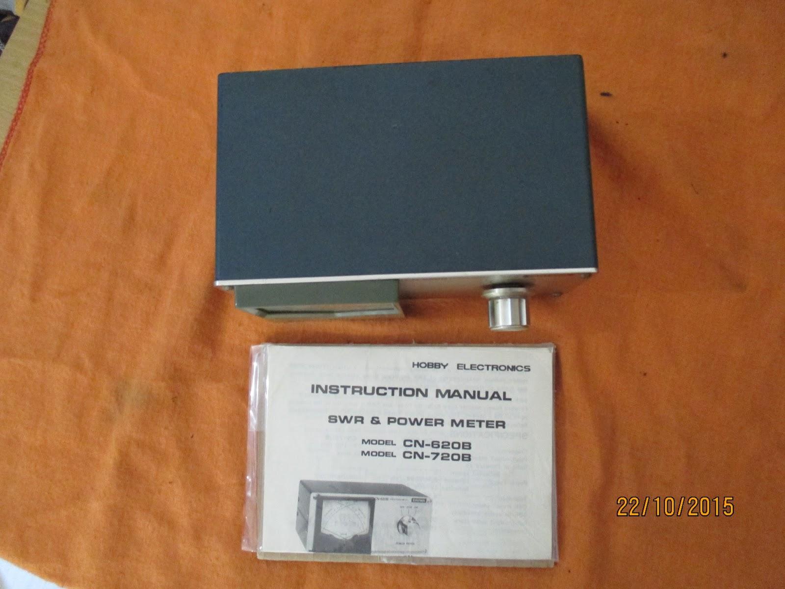 Daiwa swr power meter Manual on