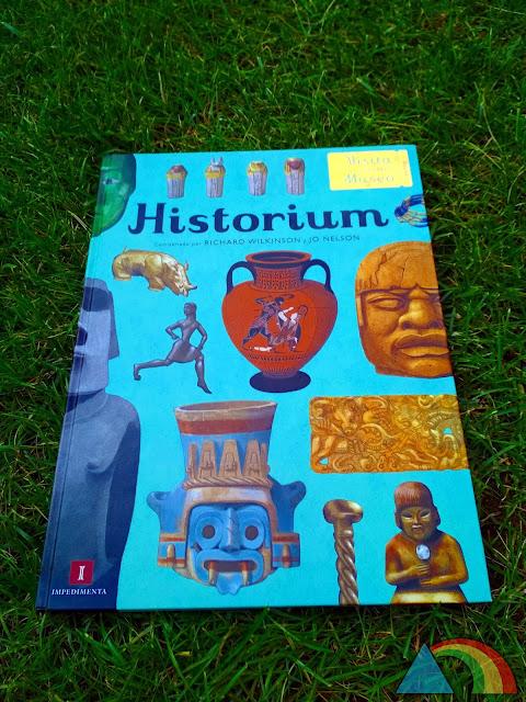Portada del libro Historium: Vista nuestro museo de la editorial Impedimenta