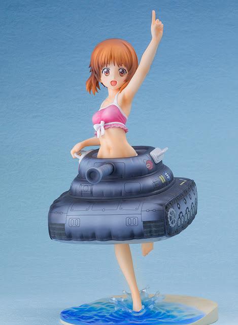 """Nishizumi Miho F:Nex ~Panzer vor!~ Mizugi & Sensha Ukiwa ver. de """"Girls und Panzer der Film""""- FuRyu."""