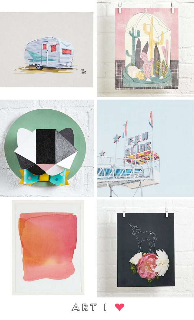 Art I Love // The Jealous Curator for Land of Nod.