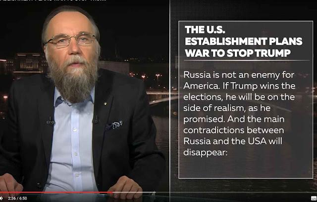 Se ganhar, Trump estará do lado do realismo que é o lado da Rússia