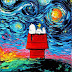 Personajes de la cultura pop al estilo de Vincent van Gogh