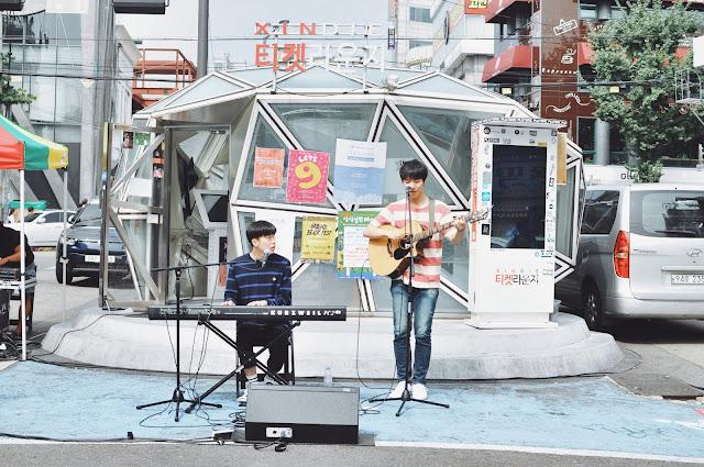 Hongdae (홍대) Walking Street