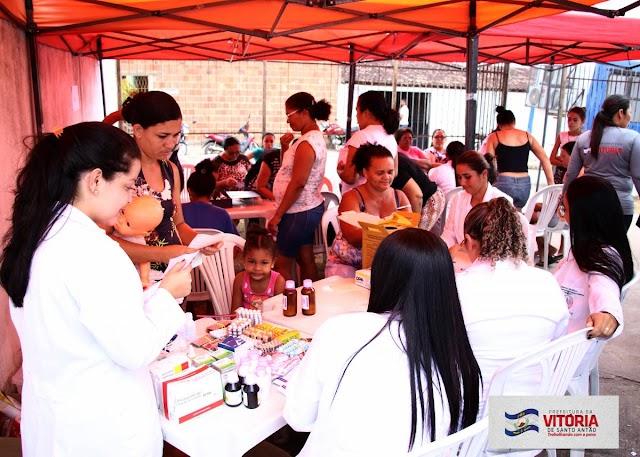 Prefeitura promove ações de saúde e assistência social no Loteamento Militina