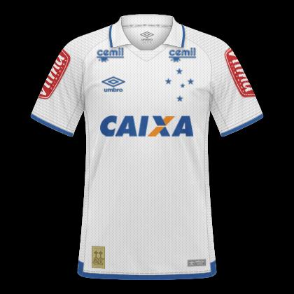 GT Camisas  Camisas Cruzeiro 2017   2018 - Home 9d24e876d8be4