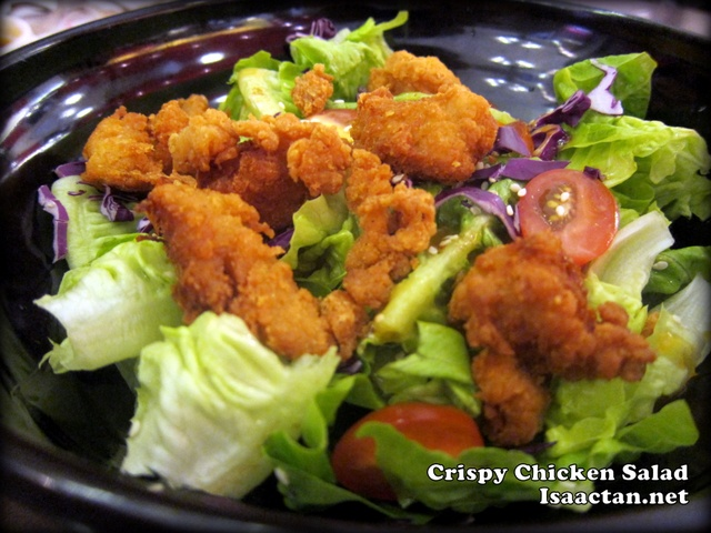 Secret Recipe Crispy Chicken Salad