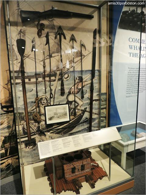 Arpones en el Museo de las Ballenas de New Bedford