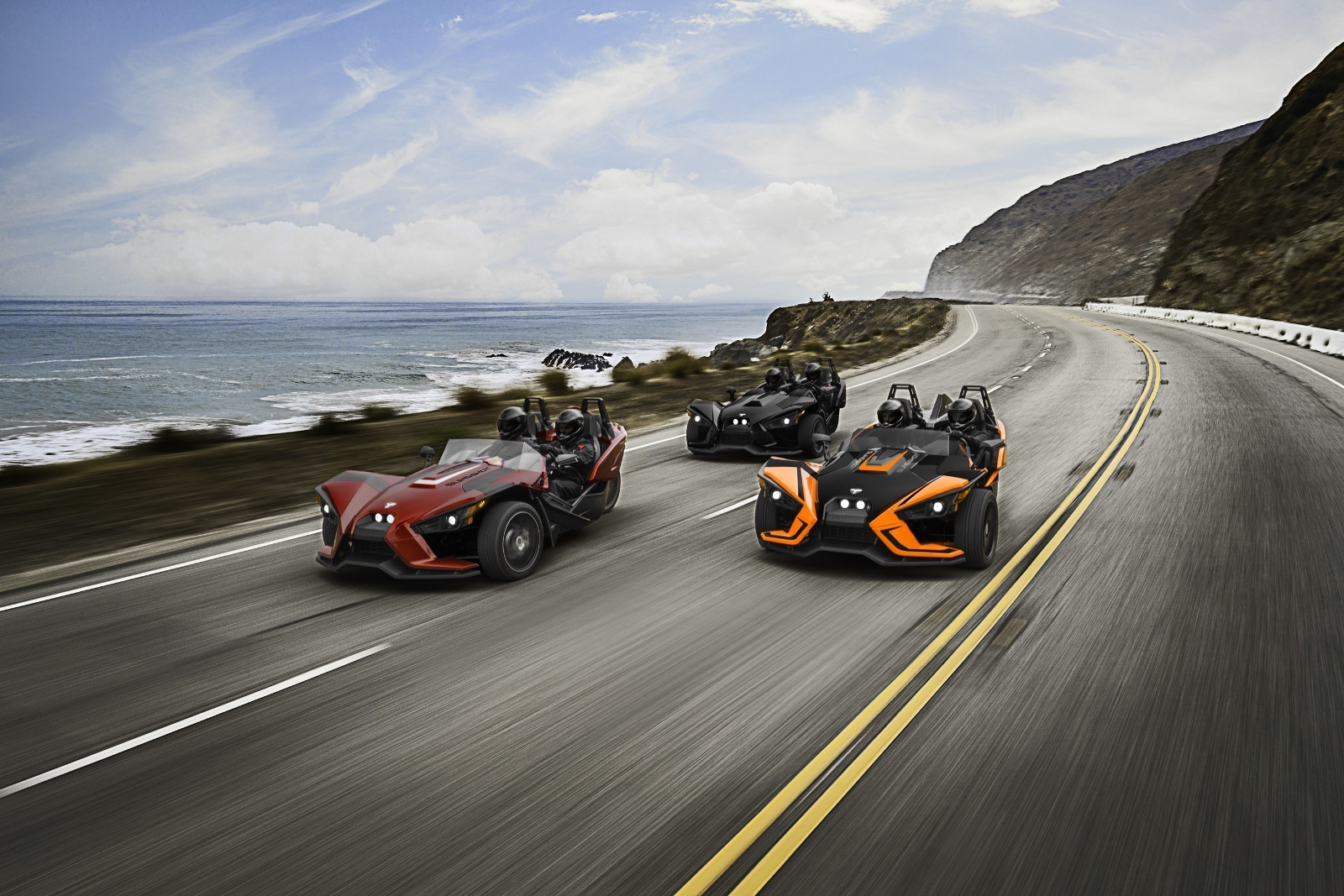 Polaris Updates Slingshot Range For 2017 And Adds Hardtop