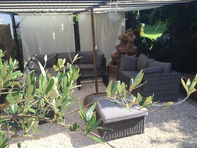Neue Chill-Ecke im Garten