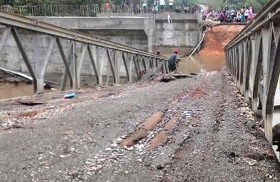Poros Pamatata - Benteng, Selayar, Lumpuh, Jembatan, Sungai, Tamanroja, Juga, Ambruk