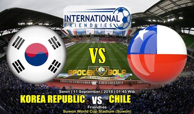 Prediksi Korea Selatan Vs Chile 11 September 2018