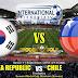 Agen Bola Terpercaya - Prediksi Korea Selatan Vs Chile 11 September 2018