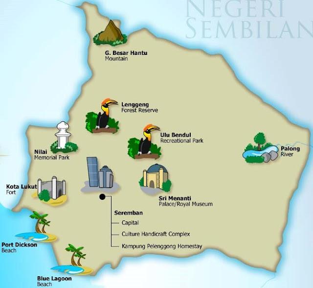 Senarai Lokasi Menarik Di Negeri Sembilan
