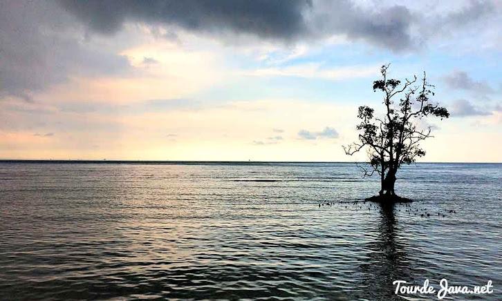pantai barat pulau sebira