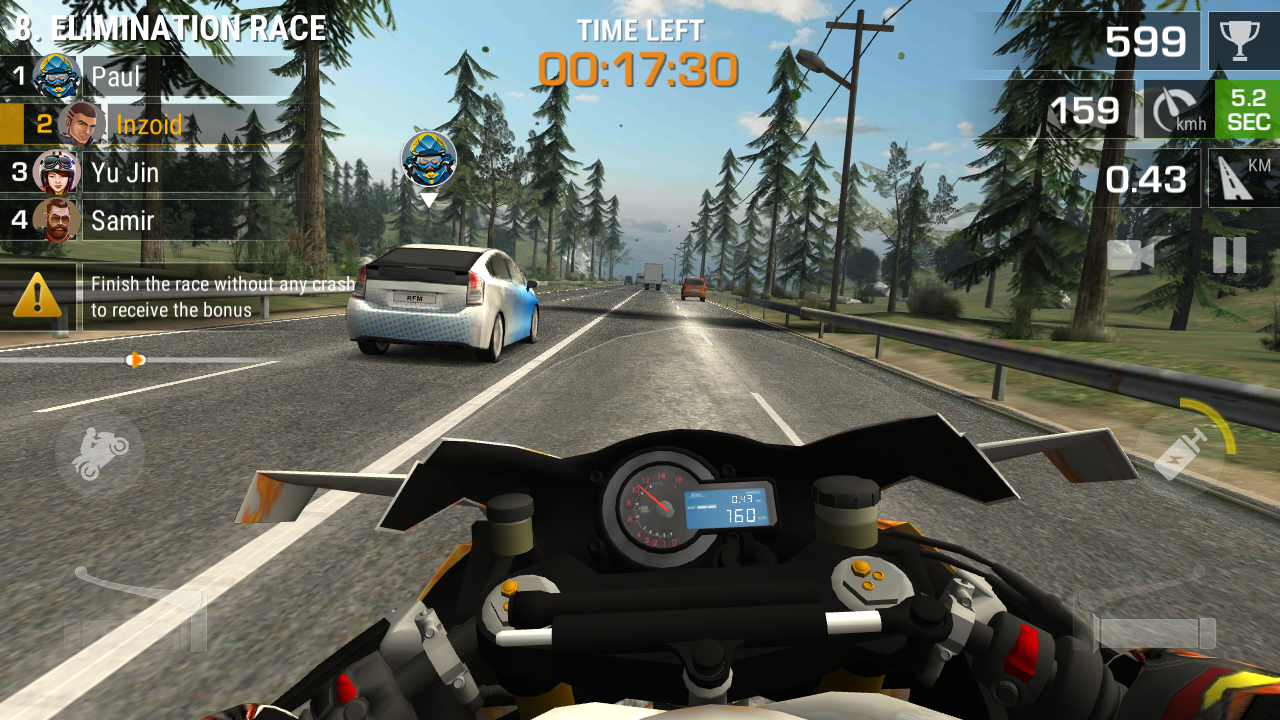 Racing Fever: Moto Apk Terbaru