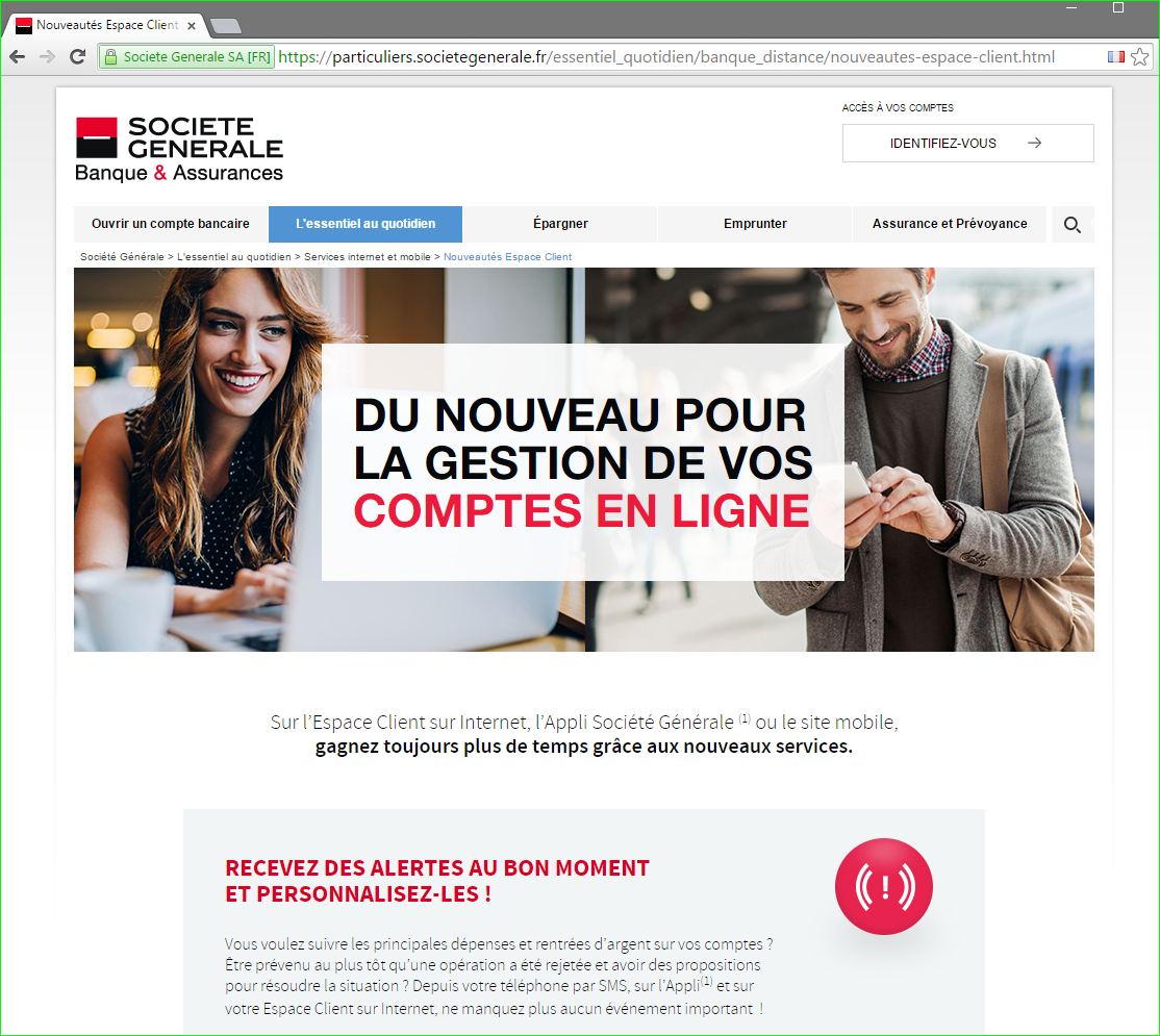 Societe Generale Phishing Piratage Vol De Donnees Cb