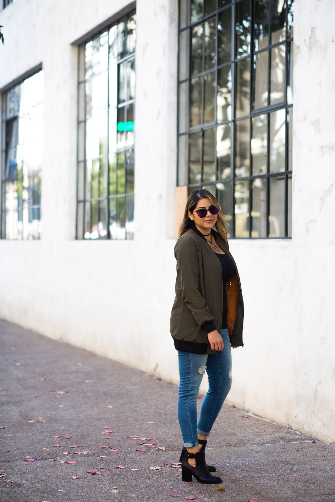 San Diego street style, san diego style blogger, distressed jean outfit