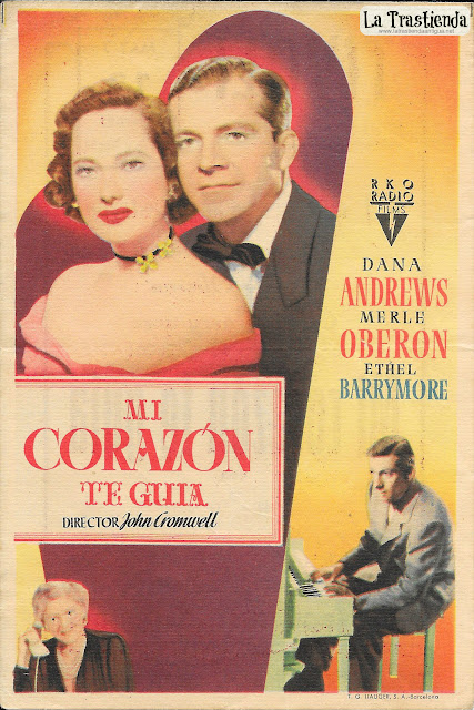 Mi Corazón te Guía - Programa de Cine - Dana Andrews - Merle Oberon