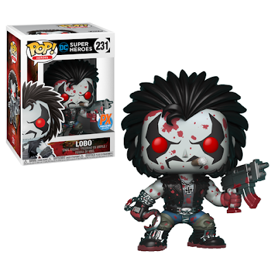 Previews Exclusive Lobo Pop! DC Comics Vinyl Figure by Funko