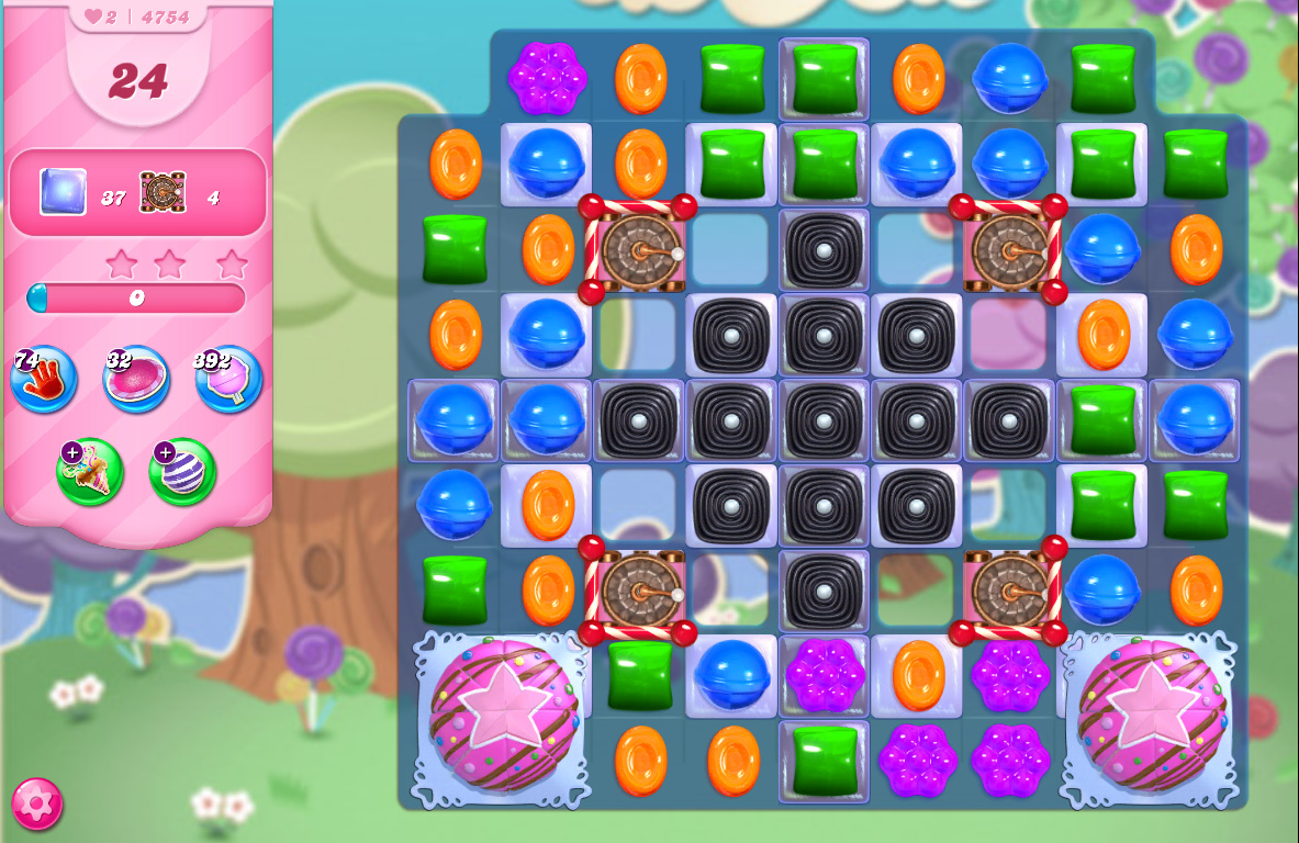 Candy Crush Saga level 4754