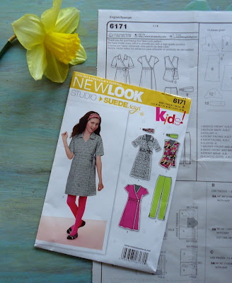 New Look 6171 kids sewing pattern
