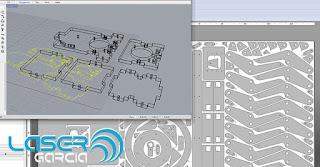 Diseño mecánico CAD/CAM para corte láser