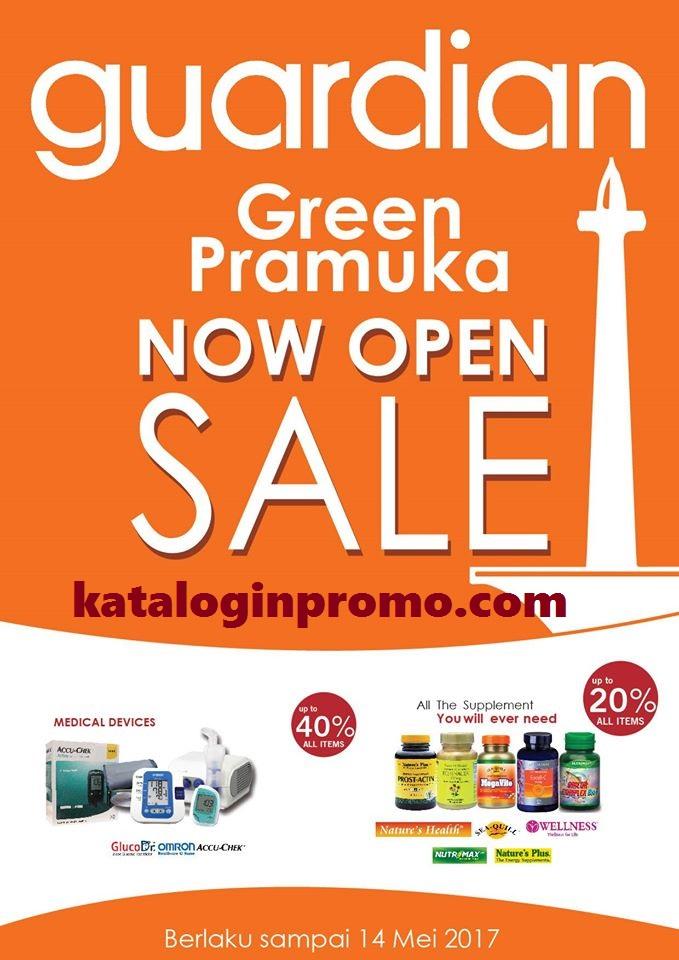 Promo Guardian Opening Green Pramuka Square Mei 2017