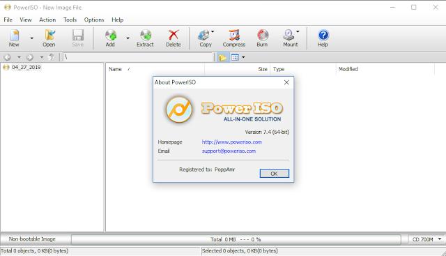 PowerISO 7.4 Full (x86/x64) Final + Portable