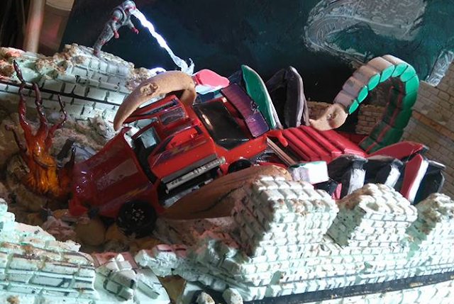 'Chinese Scorpion' Scene Recreated With Actual M.A.S.K. Toys