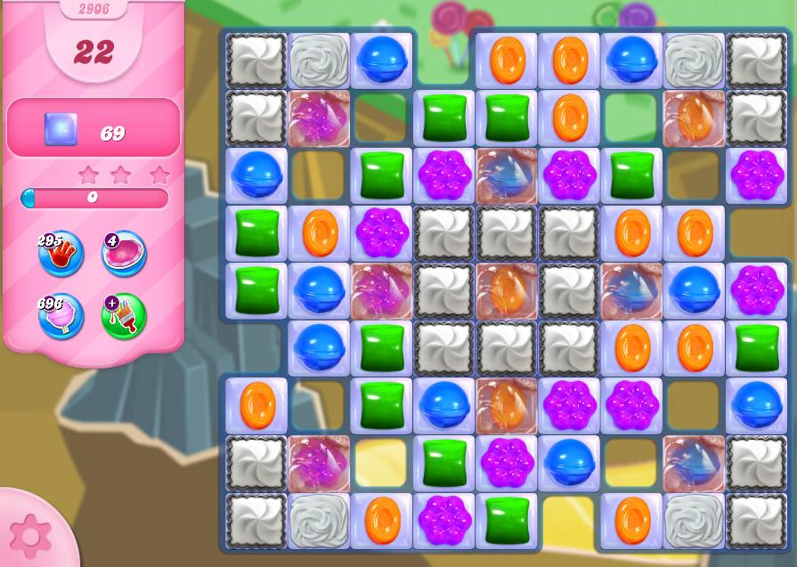 Candy Crush Saga level 2906