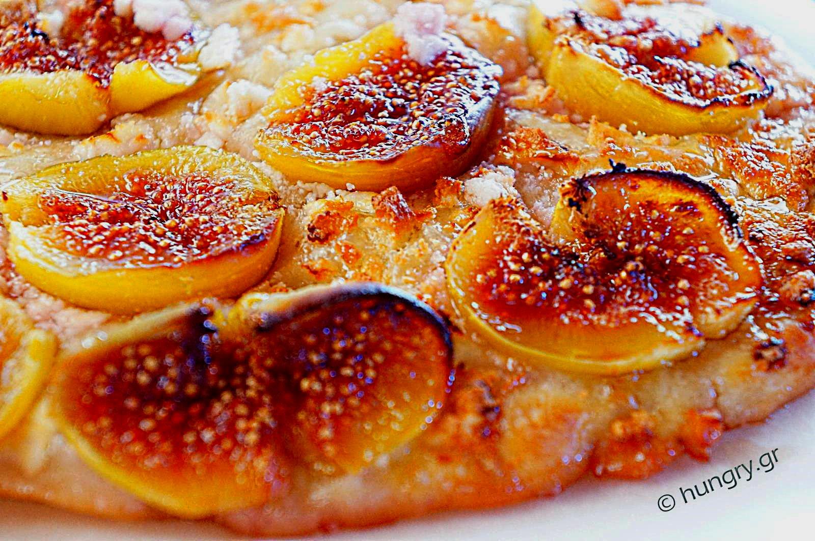 Fresh Fig & Feta Cheese Pizza
