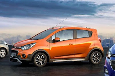 upcoming 2017 Chevrolet Beat orange colour