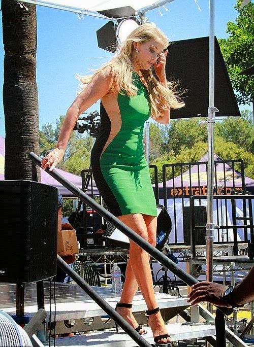 Retro Bikini Youtube Elizabeth Berkley Rocks A Green