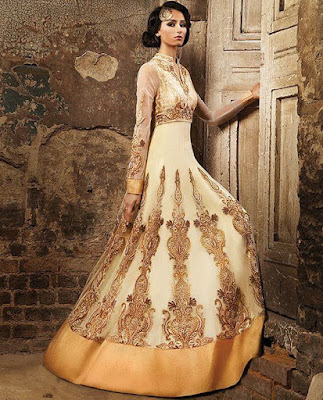 Fusion wedding gown is the perfect choice for bride.