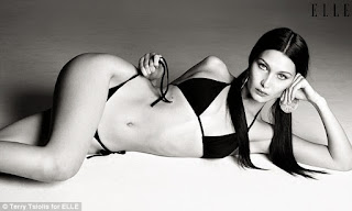 Bella Hadid in new sultry ELLE photoshoot
