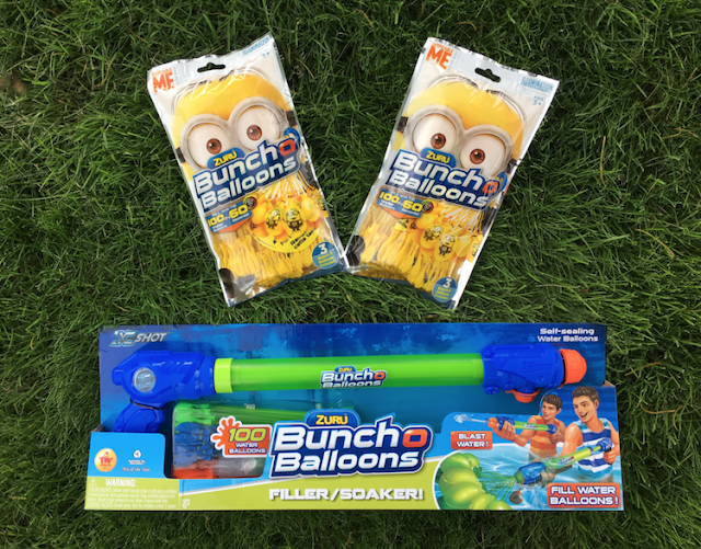 Zuru Bunch O Balloons Dispicable Me Minions and Water Soaker