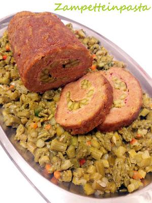 Polpettone con asparagi verdi - Ricette con gli asparagi