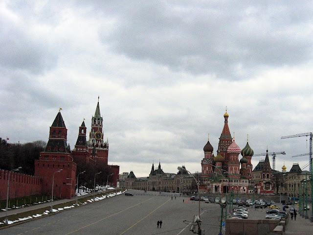кремль и покровский собор