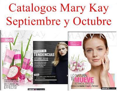 Mary Kay Catalogos Septiembre Octubre 2016